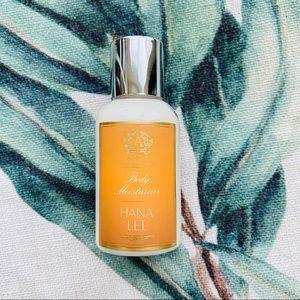 Free w 20 beauty Hana lei body moisturizer